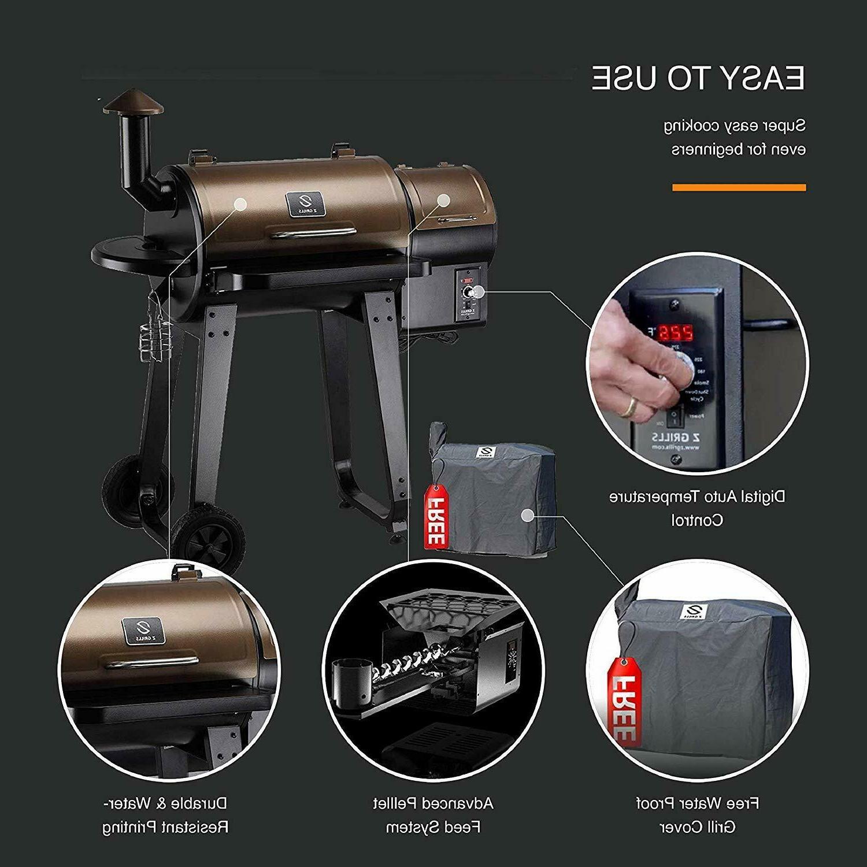 Z Wood Pellet Grill BBQ