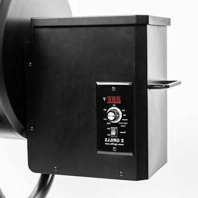 Z ZPG-550B Barbecue Wood Fire Smart Smoke Grill