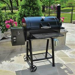 "Large 28"" Pellet Smoker Grill BBQ Smoking Tailgate Party Out"