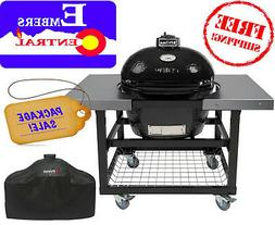 Primo LG300 Package Deal BBQ Lump Coal Bake Smoke W/ Accesso