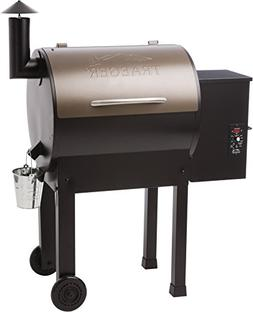 Traeger Lil' Tex Elite 22 In. Wood Fired Pellet Grill In Bla