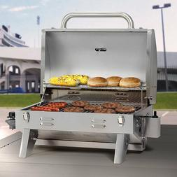 Gas Grill LP Stainless Steel Burner Backyard Patio BBQ Outdo
