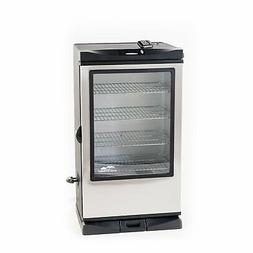 "Masterbuilt 40"" Digital Stainless Steel Electric Smoker Wind"