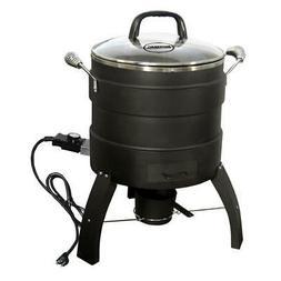 Masterbuilt MB23010809 Oil Free Roaster Electric Fryer, Blac