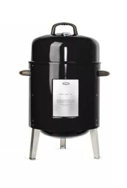 Masterbuilt MCS 10B Charcoal Bullet Smoker BBQ Cooker Patio