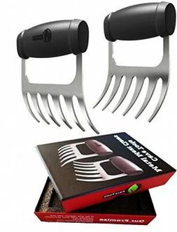 Cave Tools Meat Claws - Stainless Steel Pulled Pork SHREDDER