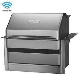 memphis grills pro wood pellet smoker w