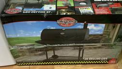 New Black Char-Griller 2735 Pro Deluxe XL Outdoor Charcoal G