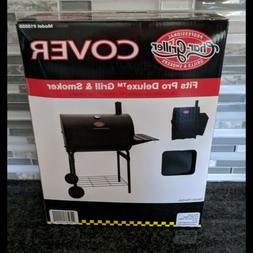 New Char Griller Pro Deluxe Grill and Smoker Cover Model 155