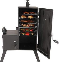 New Dyna-Glo DGO1176BDC-D Vertical Offset Charcoal Smoker