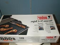 NEW IN BOX WEBER Steam N Chips Smoker Kit 9880