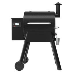 New Traeger Pro 575 Wifi Pellet Grill and Smoker in Black, P