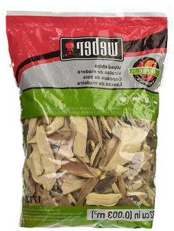 New Weber-Stephen Products 17138 Apple Wood Chips 2 lb - Per