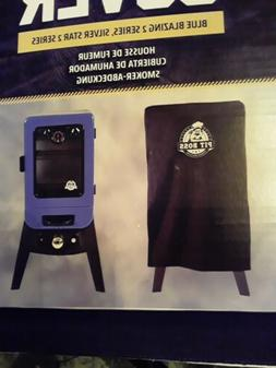 New Pit Boss Vertical Smoker Cover Blue Blazing Series 2 & S