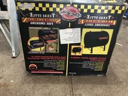 NIB -  Char-Griller 2-2424 Table Top Charcoal Grill and Side