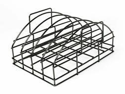 Nonstick Barbecue 4 Ribs Roast Roasting Rack 11X14X7 Inches