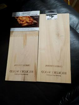 Nwt Charcoal Companion Hickory Wood Grilling Plank Lot Of 2