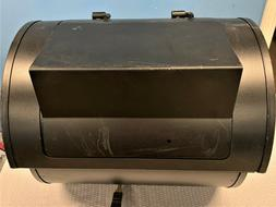"Off Set Smoker Replacement Smoker Box ""not complete"" Black F"