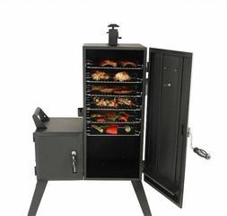 Offset Charcoal Wood Smoker Vertical BBQ Outdoor Cooker Smok