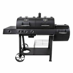 Oklahoma Joe's Charcoal and Gas Grill and Smoker Combo Black