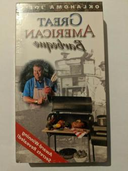 Oklahoma Joe's Great American Barbeque  NEW VHS Video Sealed
