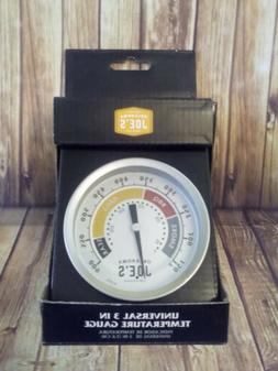 """Oklahoma Joe's Smokers Round Grill BBQ Thermometer, 3"""""""