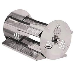Onlyfire BBQ Grill Rotating Stainless Steel Rotisserie Trays