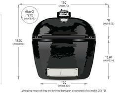 Primo Oval XL 400 Ceramic Smoker Grill model #PRM778 WE WILL