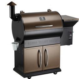 Z GRILLS Pellet Grill BBQ Smoker Outdoor Garden Barbecue wit