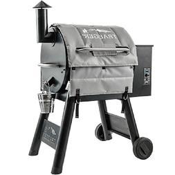 Traeger Pellet Smoker Grill Lil' Tex 22 Medium Insulation Bl