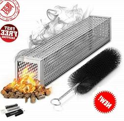 Pellet Smoker Tube 12 Inch Wood BBQ ALL Grill Electric Gas C