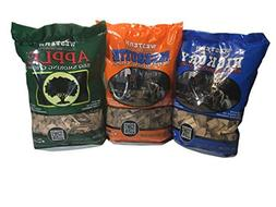 Western Perfect BBQ Smoking Wood Chips Variety Pack - Bundle