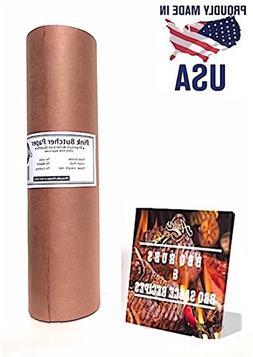 """Pink Butcher Kraft Paper Roll – 18"""" X 175' + Free Eboo"""