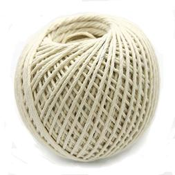 DODUO POLY-Cotton Purpose Twine Natural Color Crafts 426ft T