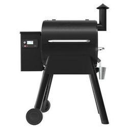 Traeger Pro 575 Smart Pellet Grill Smoker in Black Wifi Tech