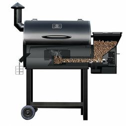Z Grills Pro 7002 Wood Pellet Smoker, 7 in 1 Grill with Digi