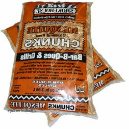 Smokehouse Products Inc Smoker Wood Chunks - 2 Bags Mesquite