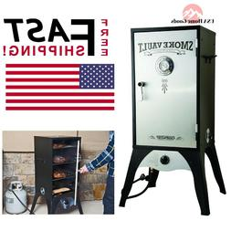 Propane Gas Smoker Cooker Grill Barbeque Yard patio Garden E