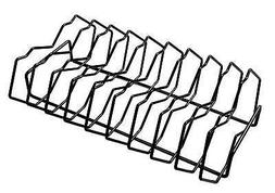 Premium Rib Rack in Metallic Finish