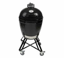 Primo Round LG 280 Ceramic Smoker Grill On Cradle