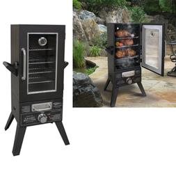 Smoker Grill Barbecue BBQ Large Outdoor Upright Vertical Gas