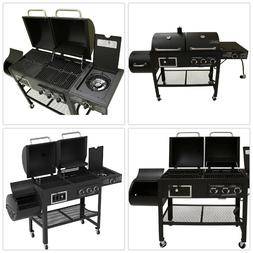 Smoke Hollow Smoker Grill Propane Gas Charcoal 3-Function 3-