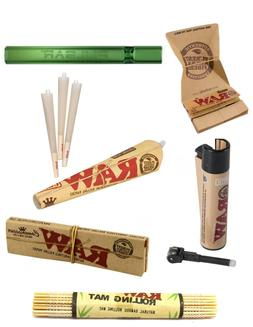 RAW Smokers Kit - King Size Organic Rolling Connoisseur Arte