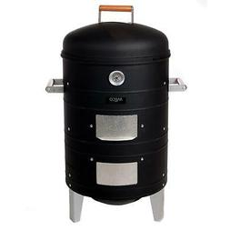 Meco Southern Country Smokers Charcoal Water Smoker with 2 L