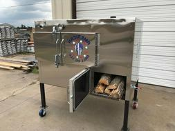 "SRS Insulated 36"" x 36"" Rotisserie Smoker - Call Before You"