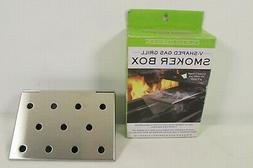 Stainless Gas Grill V-Smoker Box/Short for gas grills