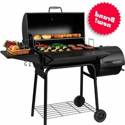 Steel Charcoal Smoker Large Backyard Barbecue Grill Outdoor