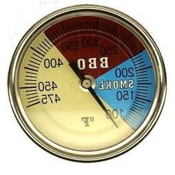 """STM 2"""" BBQ SMOKER/PIT/GRILL THERMOMETER TEMP GAUGE 475"""