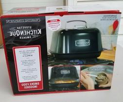 Charcoal Companion Stove Top Kitchenquie Indoor Smoker CC668