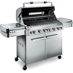 Weber Summit 7370001 S-670 Stainless-Steel 769-Square-Inch 6